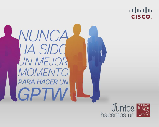 CISCO · Great Place To Work